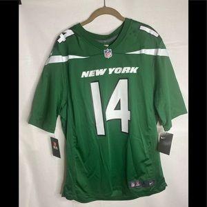Nike New York Jets #14 Sam Darnold Green Jersey
